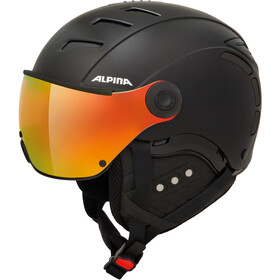 Alpina Jump 2.0 QVMM Casco da sci, black matt